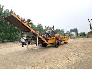1250-500柴油机型木材破碎机